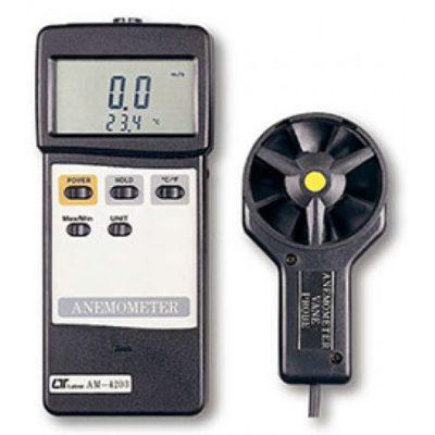 Máy đo tốc độ gió, nhiệt độ Lutron AM-4203