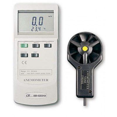 Máy đo tốc độ gió, nhiệtđộ Lutron AM-4203HA