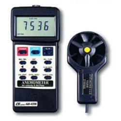 Máy đo tốc độ gió, lưu lượng gió, nhiệt độ Lutron AM-4206