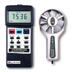 Máy đo tốc độ gió, lưu lượng gió, nhiệt độ Lutron AM-4206M