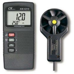 Máy đo tốc độ gió, nhiệt độ Lutron AM-4210