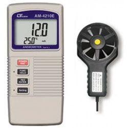 Máy đo tốc độ gió, nhiệt độ Lutron AM-4210E