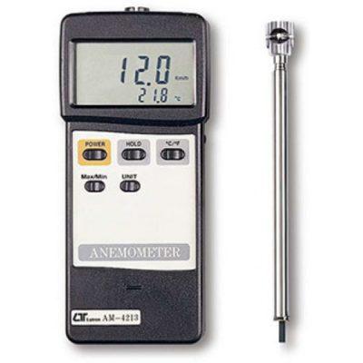 Máy đo tốc độ gió, nhiệt độ Lutron AM-4213