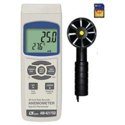 Máy đo tốc độ gió, nhiệt độ Lutron AM-4217SD