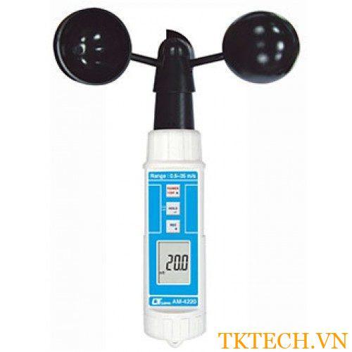 Máy đo tốc độ gió, nhiệt độ Lutron AM-4220