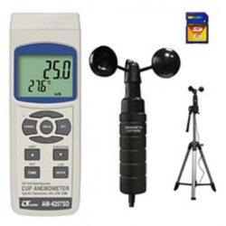 Máy đo tốc độ gió, nhiệt độ Lutron AM-4257SD