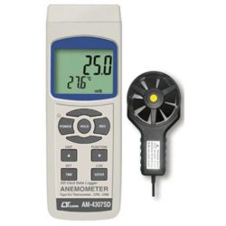 Máy đo tốc độ gió, lưu lượng gió, nhiệt độ Lutron AM-4307SD