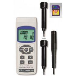 Máy đo nhiệt độ, độ ẩm và nồng độ CO2,O2,CO Lutron AQ-9912SD
