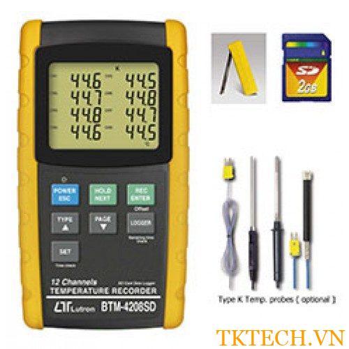 Máy đo nhiệt độ Lutron BTM-4208SD