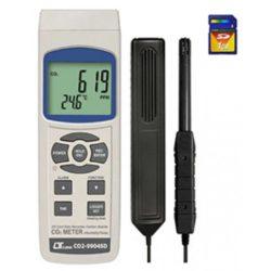 Máy đo nhiệt độ, độ ẩm và nồng độ CO2 Lutron CO2-9904SD