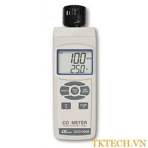 Máy đo nhiệt độ và nồng độ CO2 Lutron GCO-2008