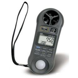 Máy đo tốc độ gió, lưu lượng gió, ánh sáng, độ ẩm, nhiệt độ Lutron LM-8010