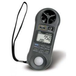 Máy đo cường độ ánh sáng, áp suất, tốc độ gió, lưu lượng gió, độ ẩm, nhiệt độ Lutron LM-9000