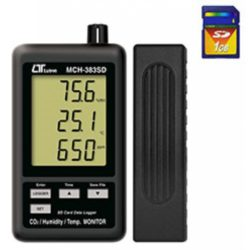 Máy đo nhiệt độ, độ ẩm và nồng độ CO2 Lutron MCH-383SD