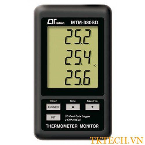 Máy đo nhiệt độ Lutron MTM-380SD