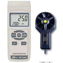 Máy đo tốc độ gió, nhiệt độ Lutron MY-81AP
