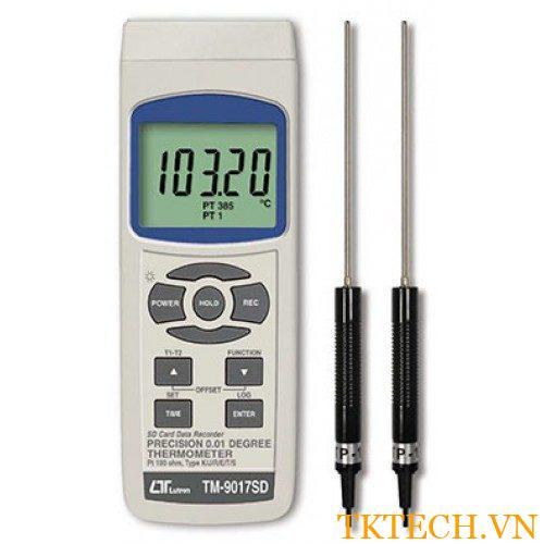 Máy đo nhiệt độ Lutron TM-9017SD