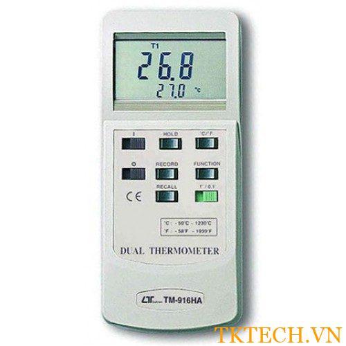 Máy đo nhiệt độ Lutron TM-916HA