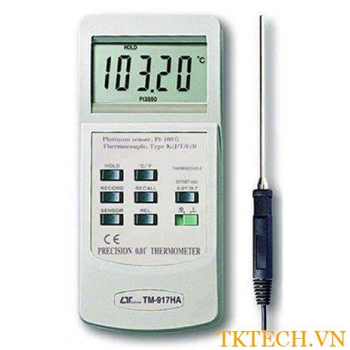 Máy đo nhiệt độ Lutron TM-917HA