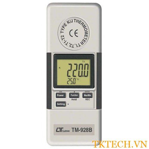 Máy đo nhiệt độ Lutron TM-928B