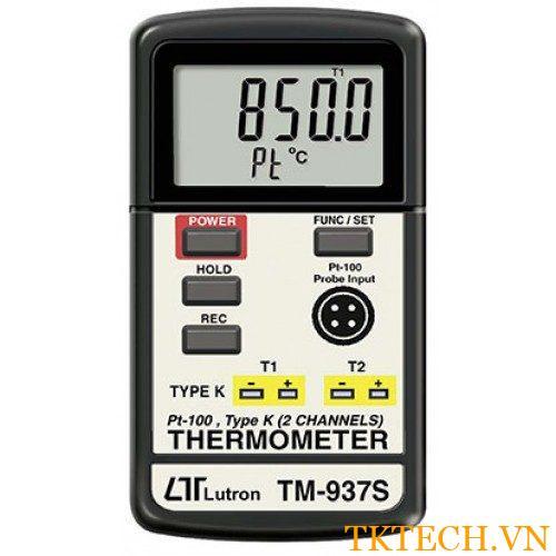 Máy đo nhiệt độ Lutron TM-937S