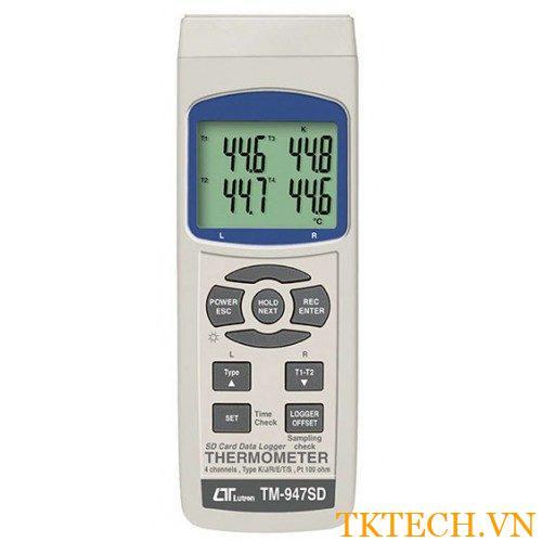 Máy đo nhiệt độ Lutron TM-947SD