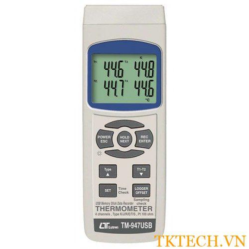 Máy đo nhiệt độ Lutron TM-947USB