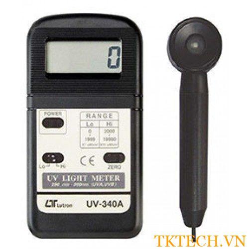 Máy đo cường độ ánh sáng Lutron UV-340A