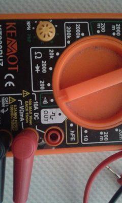 cách sử dụng đồng hồ vạn năng đo thông mạch