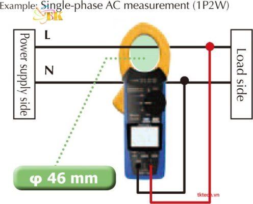 cách sử dụng ampe kìm đo dòng dc Hioki CM3286-20