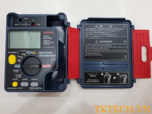 Máy đo điện trở Sanwa MG1000