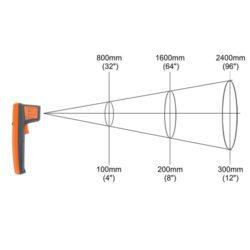 Nhiệt kế laser kỹ thuật số Elcometer 214L IR