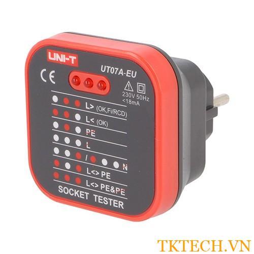 Thiết bị kiểm tra ổ cắm UT07A-EU Socket Tester