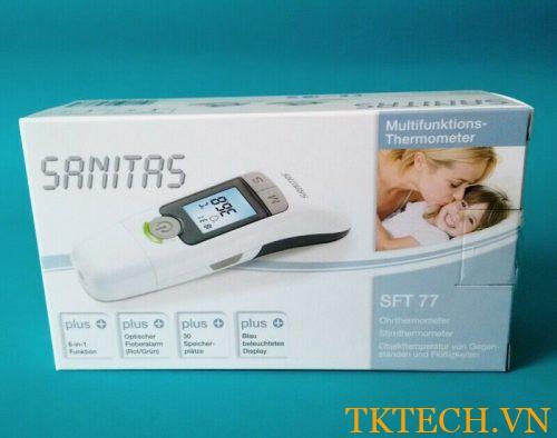Nhiệt kế điện tử đo trán Sanitas SFT 77 Đức