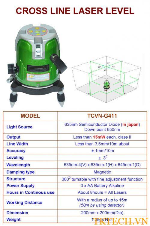 Máy quét Laser TCVN-G411