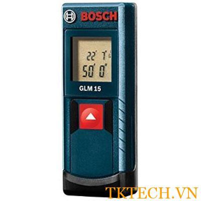 Máy đo khoảng cách laser Bosch GLM 15