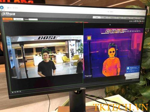 Camera đo thân nhiệt HIKVISION DS-2TD2617B-3/PA(B)