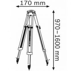 Kích thước Bosch BT 160-1