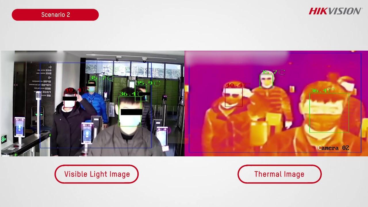 ảnh nhiệt của Camera thân nhiệt HIKVision DS-2TD2636B-13/P
