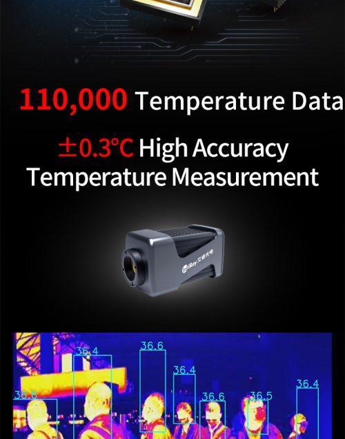Độ chính xác Camera đo thân nhiệt InfiRay AT300