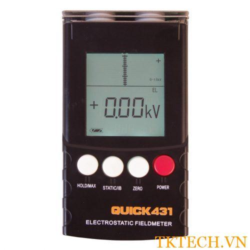 Máy đo tĩnh điện Quick 431