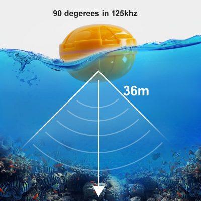 Máy dò cá không dây Fish Finder FISH01A