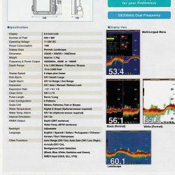 Hondex HE-881-Thông số kỹ thuật