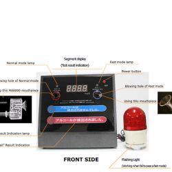 Máy đo nồng độ cồn Sentech AL3200
