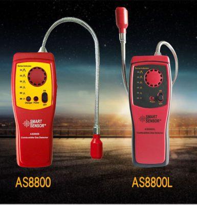 Máy dò rò rỉ khí gas Smart Sensor AS8800L