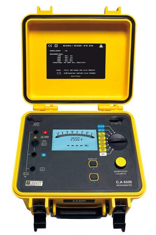 Máy đo điện trở cách điện Chauvin Arnoux CA 6505