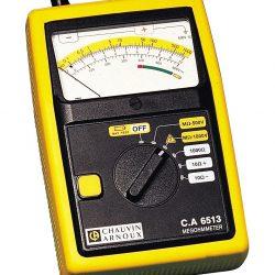 Máy đo điện trở cách điện Chauvin Arnoux CA 6513