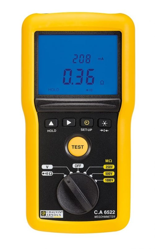 Đồng hồ đo cách điện Chauvin Arnoux CA6522