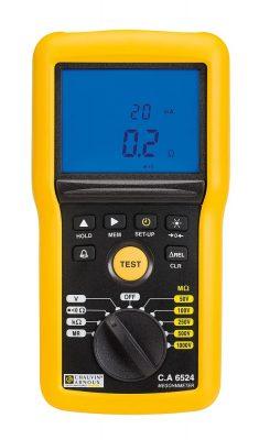 Máy đo cách điện Chauvin Arnoux CA 6524