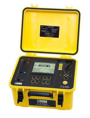 Máy đo điện trở cách điện Chauvin Arnoux CA 6550